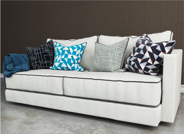 Tribeca Couch, Eggshell