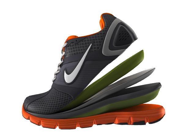 Nike split shoe